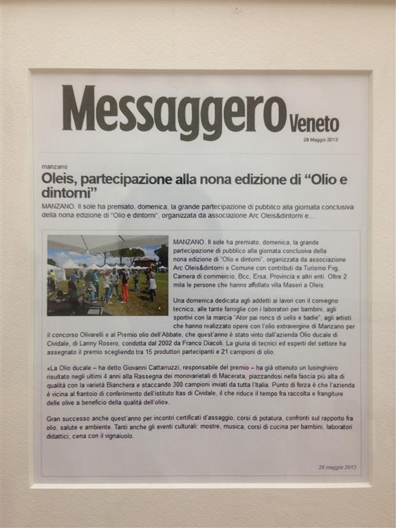 2013-articolo-messaggero-veneto-olio-ducale